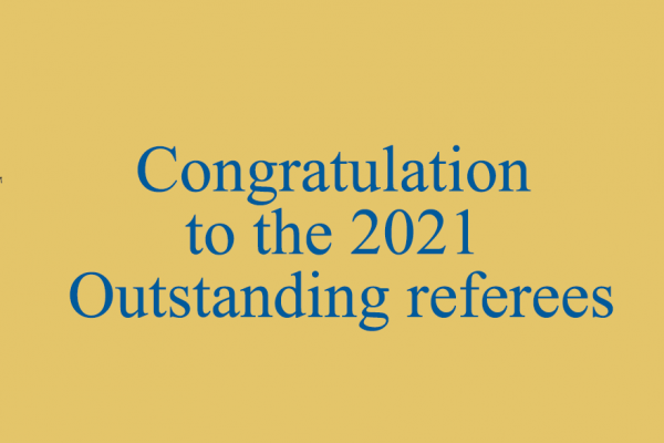 Outstanding APS Referee : An award-winning ICB researcher