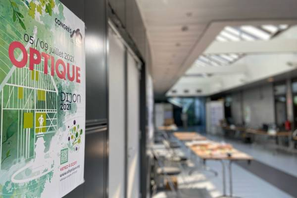 Dijon, showcase of the largest Optics congress in France and the largest international French-speaking congress