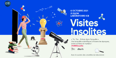 """Second edition of the CNRS """"Visites insolites"""""""