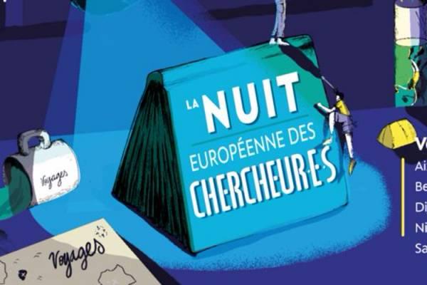 Travel around the world of researchers with la Nuit Européenne des Chercheur.e.s
